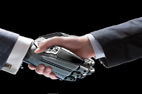 Robot-with-human-handshake geknipt-1
