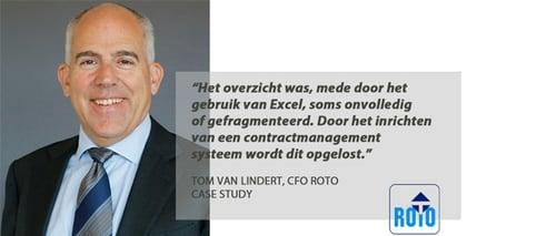 Case study Contractmanagement - ROTO