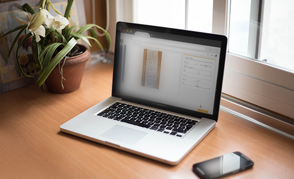 Mockup product tour easy expense laptop en iphone 587x357