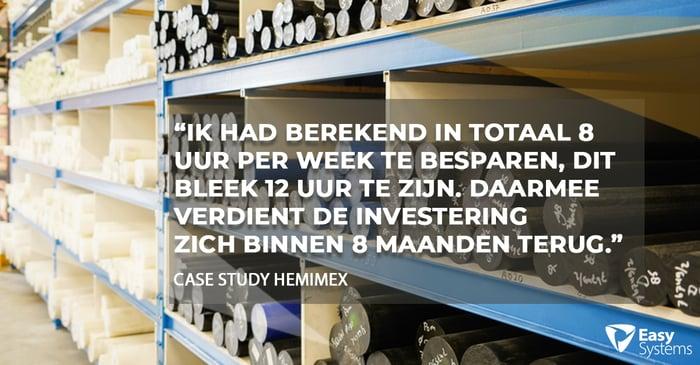 factuurverwerking case study Hemimex quote
