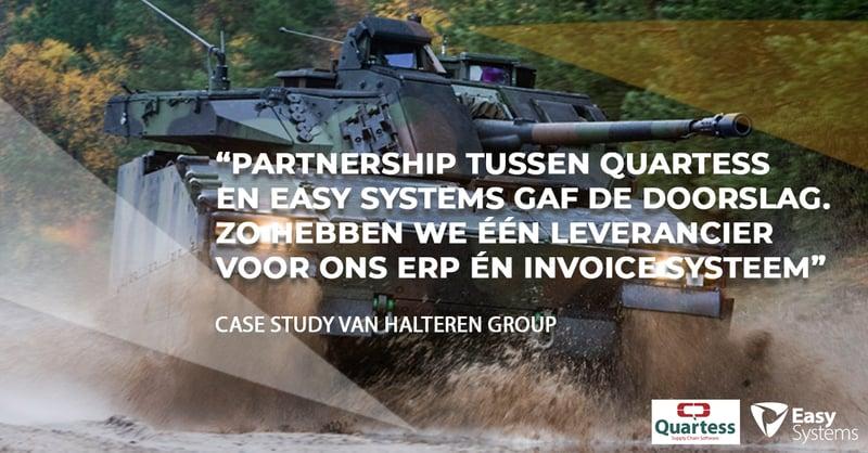 geautomatiseerde factuurverwerking case study Van Halteren quote
