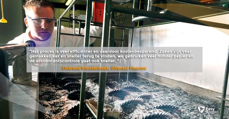 geautomatiseerde factuurverwerking accountview & isah case study Aeronamic quote Ijsbrand Stoutenbeek 1200x627