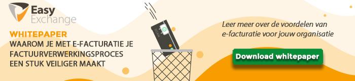 van digitale factuurverwerking naar e-facturatie